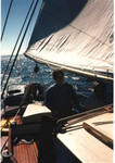 Sailing on Cowichan Bay, Vancouver Island, BC, Canada