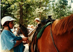 Heading out for a ride up to Nevada Falls, Yosemite, early 90's