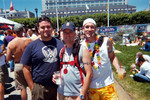 Me, Brian, and Brian's friend from Hawaii